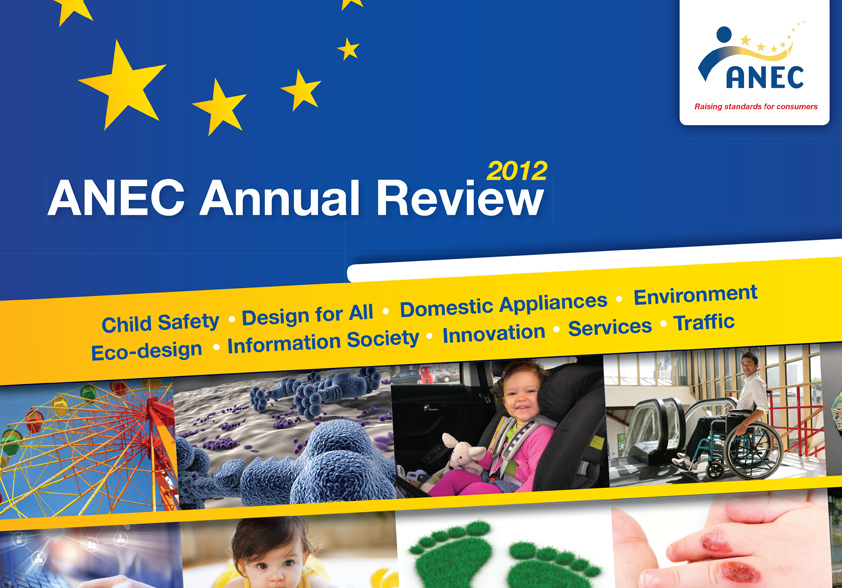 ANEC Annual Review 2012 cover