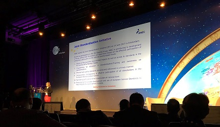 Chiara Giovannini at the GS1 Forum