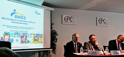 Arnold Pindar at the EPC dialogue