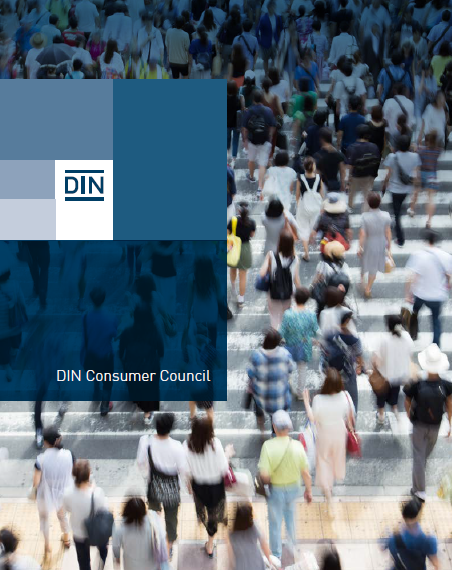 DIN  Consumer Council poster